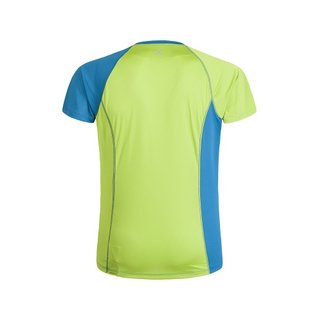 MONTURA WORLD MIX T-SHIRT MEN BLUE OTTANIO/VERDE ACIDO