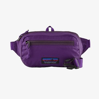 Patagonia Ultralight Black Hole® Mini Hip Pack 1L Patchwork: Purple