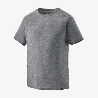 Patagonia Mens Capilene® Cool Lightweight Shirt Forge Grey - Feather Grey X-Dye