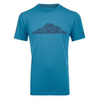 ORTOVOX 150 COOL PITCHES T-SHIRT M ECO BLUE