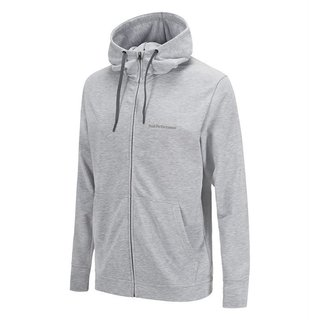 PEAK PERFORMANCE STRUCTURE PULLOVER MEN MED GREY MELANGE