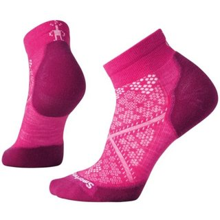 SMARTWOOL DAMEN SOCKEN PHD RUN LIGHT ELITE LOW CUT POTION PINK