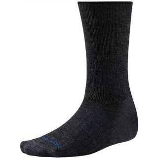 SMARTWOOL PhD OUTDOOR HEAVY  CREW SOCKEN CHARCOAL