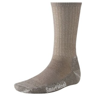 SMARTWOOL HIKING LIGHT SOCKEN CREW UNISEX TAUPE