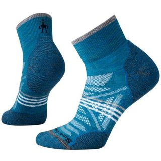 SMARTWOOL DAMEN SOCKEN  PhD OUTDOOR LIGHT MINI GLACIAL BLUE