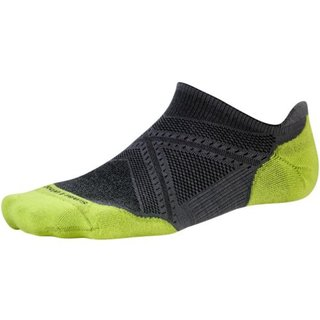 SMARTWOOL PHD RUN LIGHT ELITE  MICRO GRAPHITE