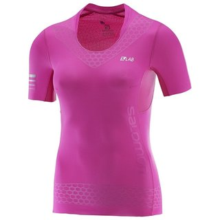 SALOMON S-LAB EXO SS TEE W ROSE VIOLET