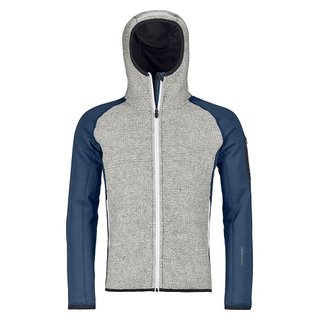 MERINO FLEECE PLUS CLASSIC KNIT HOODY M NIGHT BLUE
