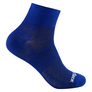 WRIGHT SOCKS COOLMESH II QUARTER ROYAL