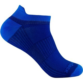 WRIGHT SOCKS COOLMESH II LOW TAB ROYAL-BLUE