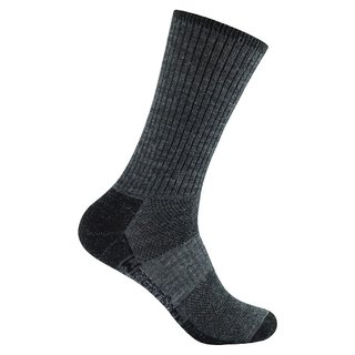 WRIGHT SOCKS MERINO/STRIDE CREW GREY