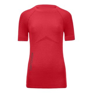 MERINO 230 COMPETITION SHORT SLEEVE W HOT CORAL
