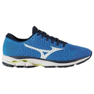 MIZUNO WAVEKNIT R1 MEN BBLUE/WHITE/SAFETY YELLOW