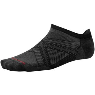 SMARTWOOL PHD RUN ULTRA LIGHT MICRO BLACK/BLACK