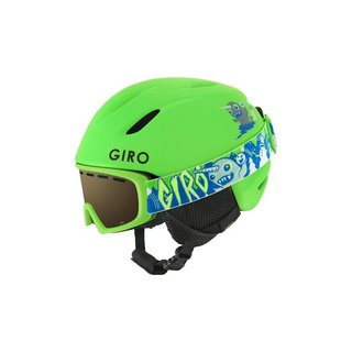GIRO S LAUNCH COMBOPACK MAT BRIGHT GREEN TAGAZOO XS