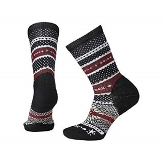 SMARTWOOL WOMEN COZY CABIN CREW CHARCOAL HEATHER