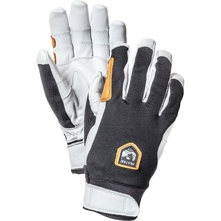 HESTRA ERGO GRIP ACTIVE 5 FINGER BLACK/OFFWHITE