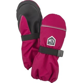 HESTRA JUNIOR WOOL TERRY MITT FUCHSIA