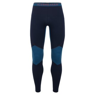 ICEBREAKER MENS 260 ZONE LEGGINGS MIDNIGHT NAVY/PRUSSIAN BLUE