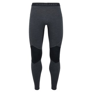 ICEBREAKER MENS 260 ZONE LEGGINGS JET HEATHER/BLACK