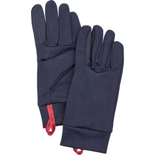 HESTRA HEAVY DRY WOOL TOUCH POINT 5 FINGER NAVY