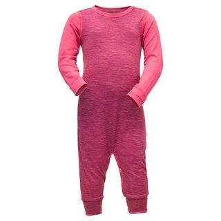 DEVOLD BREEZE BABY SLEEPSUIT WATERMELON MEALNGE