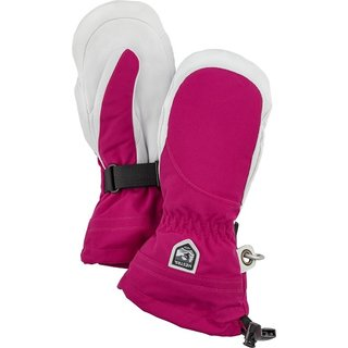 HESTRA LEATHER HELI SKI WOMAN FUCHSIA/OFFWHITE