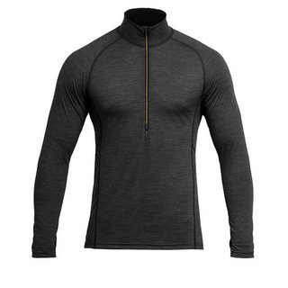 DEVOLD RUNNING HERREN ZIP NECK ANTRACITE