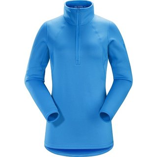 ARCTERYX  RHO AR ZIP NECK DAMEN  BAJA