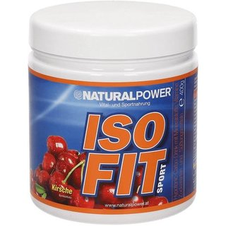 Natural Power Isofit 400g Kirsch