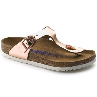 BIRKENSTOCK UNISEX GIZEH BS REGULAR FIT METALLIC COPPER