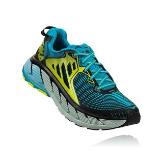 HOKA MEN GAVIOTA BLACK/CARIBBEAN SEA 42 2/3 EU