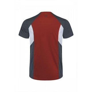 MONTURA OUTDOOR PERFORM SHIRT MEN ROSSO/PIOMBO M